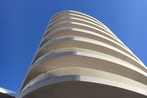 Der Beton wurde mit Dyckerhoff Weiss Strong N<br /> selbstverdichtend ausgeführt.