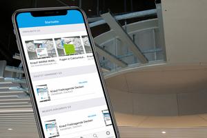 Jetzt auch für Smartphones nutzbar: die Knauf Infothek-App mit allen relevanten Dokumenten und Informationen zu Systemen und Produkten.