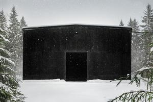 Das Fasslager der Kyrö-Destillerie ist das Lagergebäude der nördlichsten Destillerie der Welt.