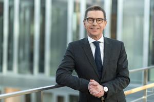 Christian Dummler, Geschäftsführer und CFO der Zeppelin GmbH.<br />
