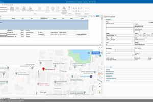 Die Kartenansicht im Adressenkatalog ist nur eine von zahlreichen Neuerungen der iTWO-Softwareversion 2020.<br />