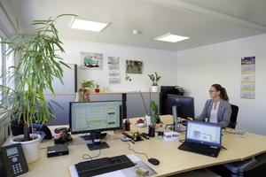 Büroräume zur individuellen Gestaltung: Container können flexibel eingerichtet werden.
