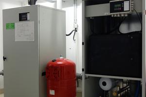 Regenwassercenter Tano XL zur Unterverteilung des Betriebswassers nahe bei den Verbrauchsstellen. Bei fehlendem Niederschlag erfolgt automatisch im Regenwassercenter die Nachspeisung gemäß DIN EN 1717.