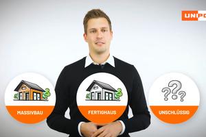 """Erweitertes Beratungsangebot: Mit dem """"Digitalen Bauberater"""" von Unipor finden Bauherren spielerisch den passenden Wandbaustoff für ihr Traumhaus."""