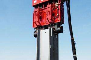 Die freireitenden Systeme der Vibratoren spielen ihre Leistungsstärke vor allem auf großen und anspruchsvollen Baustellen aus.<br />