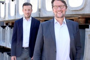 Christian Merkel, Geschäftsführer (rechts), und Marian Dürrschnabel, Teamleiter Produktmanagement & Marketing bei der Birco GmbH