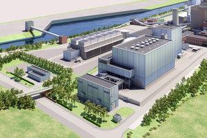 Im Herzen des Ruhrgebiets entsteht ein modernes Gas- und Dampfturbinenkraftwerk. Mit einem Gesamtnutzungsgrad des eingesetzten Brennstoffs Erdgas von 85 Prozent wird das GuD Herne eine der effizientesten und umweltfreundlichsten Anlagen der Welt.