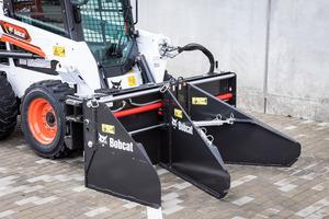 Das neueste Anbaugerät von Bobcat verlegt Straßenbeläge aus Asphalt und weiteren gängigen Materialien.