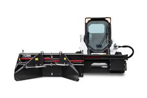Das schnell betriebsbereite Anbaugerät ist für Kompaktlader mit elektronischer Steuerung konzipiert.