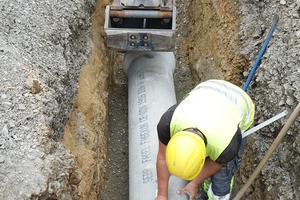 Die guten bautechnischen Eigenschaften der Kanalrohre schaffen die Voraussetzung dafür, dass das System bei fachgerechter Verlegung jahrzehntelang einwandfrei funktioniert.<br />