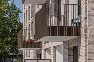 Terrassen und Loggien mit Blick auf die Weser sowie bodentiefe Fenster sorgen für einen hohen Wohnkomfort.