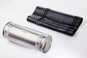 Für Altrohre mit starken Achsabwinklungen und Muffenversätzen bietet die Pipe-Seal-Tec GmbH &amp; Co. KG das einteilige, patentierte System Pipe-Seal-Flex an.<br />