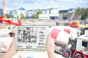 Plan2go kann auf Mobilgeräten verwendet werden.