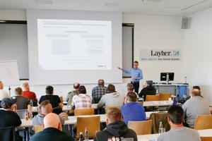 Mehr möglich mit Layher Seminaren – Ausführliche Informationen zu Terminen und Inhalten sowie ein Anmeldeformular finden Interessierte unter seminare.layher.com.