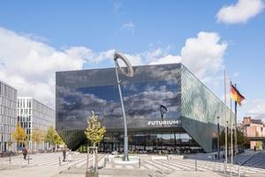 Das Futurium befindet sich zwischen Reichstag und Hauptbahnhof am Berliner Spreeufer.