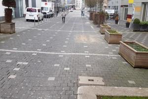 Ursprünglich prägten Spurrinnen das Bild auf der Morleystraße in Siegen.