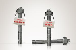Um die Auswahl geeigneter Befestigungslösungen aus nichtrostenden Stählen international zu vereinfachen, richtet Fischer seine Produktbezeichnungen an den Korrosionsbeständigkeitsklassen CRC gemäß DIN EN 1993-1-4 aus. Aus dem Bolzenanker FAZ II A4 wird beispielsweise der FAZ II R (für Englisch: Resistant). FAZ II C wird zu FAZ II HRC (für High Corrosion Resistant).