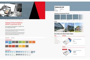 Voll digital: Die neue Farbtonkollektion ColorPoint 20.10.