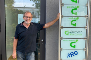 ((Dummy))Jürgen Mandel, Geschäftsführer der Gramenz Neubau GmbH