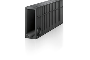 Recyfix Monotec Rinne, in monolithischer Bauweise für einfachen und schnellen Einbau.
