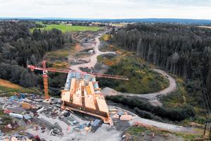 Die Straße wird voraussichtlich drei Monate früher als geplant eröffnet werden.
