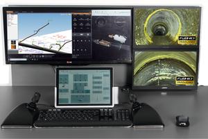 2020: Digitale Anlage mit frei konfigurierbarem Control Panel, Touch-Display und Multifunktionsjoysticks für eine optimale Bedienung der Gesamtanlage.