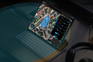 Die Drohnensteuerung erfolgt per App.<br />