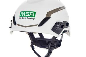 Der leichte MSA Safety Schutzhelm V-Guard&nbsp; H1 bietet zahlreiche Innovationen zu Tragekomfort und Ausstattung.<br />