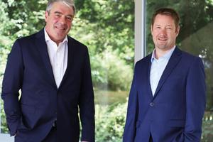 Der Vorsitzende Dr. Roman Breuer (re.) und Tobias Bangerter bilden die neue Doppelspitze bei Bauer Resources.<br />
