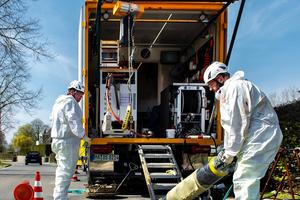eMulti-Anlagen gehört die Zukunft: Bei Sanierungsarbeiten können die leistungsstarken und dabei leisen Aggregate äußerst flexibel und wirtschaftlich eingesetzt werden.