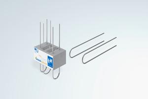 Schöck bietet für seine Produkte, wie hier für den Isokorb XT Typ A, bereits die λeq-Werte nach EAD-Verfahren an. Architekten und Planer können diese für den vereinfachten Wärmebrücken-Nachweis nach Beiblatt 2 anwenden.