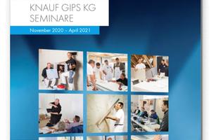 Die Knauf Akademie hat ihr Seminarangebot bis Ende April 2021 vorgestellt. Die Themenauswahl deckt wie gewohnt ein breites Wissensspektrum ab.
