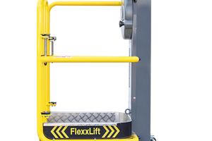 Mit dem FlexxLift 1.5 erreicht der Anwender Arbeitshöhen bis rund 3,5 Meter.
