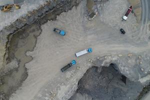 In den Gruben der BMK-Steinbruchbetriebe in Ilsfeld und in der hügeligen Umgebeung wurden die robusten Bau-Trucks hart gefordert.