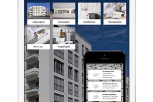 Mit der KS App stellt der Markenverbund alle Informationen rund um die funktionsgetrennte KS-Bauweise in komprimierter Form zur Verfügung.