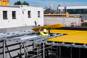 Alle Onadek-Systemteile sind aus hochfestem Stahl gefertigt und feuerverzinkt. Im Vergleich zu konventionellen H20-Decken gehören Folgekosten, verursacht etwa durch beschädigte oder zurückgeschnittene H20-Träger, damit weitestgehend der Vergangenheit an.