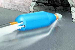 Höchstdruck-Düsen für Betriebsdrücke bis zu 1000 bar erleichtern die effiziente Kanalreinigung.
