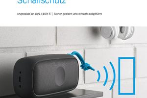 Die neue Schallschutzbroschüre liefert übersichtliche Informationen und ist digital kostenlos verfügbar.