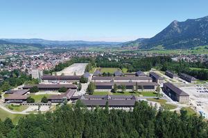 Platz 1: Luftaufnahme der Generaloberst-Beck-Kaserne in Sonthofen.