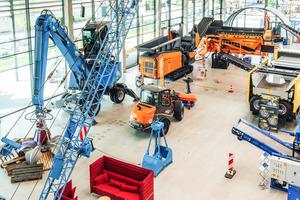 Die Coreum Expo bietet regelmäßig neue Ein- und Ausblicke für die Bau,- Umschlag- und Recyclingbranche.