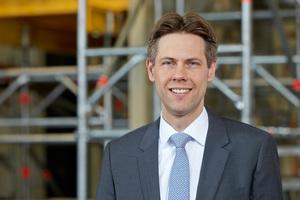 Wolf Christian Behrbohm ist Geschäftsführer der Wilhelm Layher GmbH & Co KG