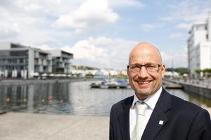 Dr. Christian Falk ist technischer Leiter der Stadtentwässerung Dortmund.