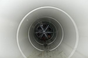 Nach der Sanierung: Mittels TIP ließen sich die Deformationen zurückformen und der kreisrunde Querschnitt des Abwasserkanals wiederherstellen.