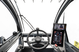 Die Kabine der neuen Modellreihe verfügt über ein innovatives, patentiertes Design.