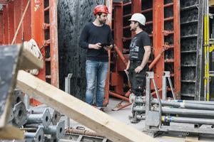 Die erfolgreiche Zusammenarbeit der Partner ist ein großer Vorteil des digitalen Baumanagements.