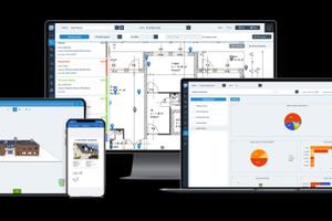 PlanRadar ist auf Android, iOS und Windows für alle Geräte verfügbar