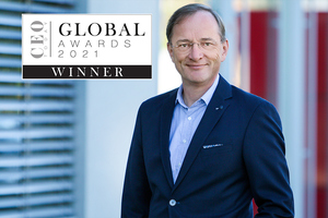 Bedeutende Auszeichnung für TII Group CEO Dr. Gerald Karch: Das CEO Today Magazine hat ihm den Global Award 2021 verliehen.