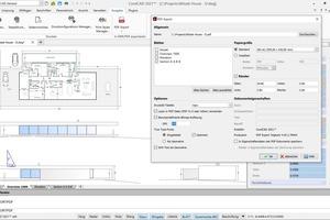 Verbesserte PDF-Ausgabe unter Windows: Die Ausgabe von Bitmap- und Vektordesigns lässt sich in&nbsp;CorelCAD&nbsp;besser steuern als bisher.<br />