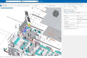 Der neue BIM-Viewer gewährt schnelleEinblicke in alle Details des BIM-Modells.
