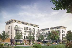 In Franklin-Mitte baut die Familienheim RheinNeckar eG 168 Wohneinheiten in zwölf Gebäuden.